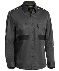 Flex & Move™ Mechanical Stretch Long Sleeve Shirt