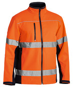 Soft Shell Jacket with 3M Reflective Tape