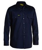Cool Lightweight Mens Drill Shirt - Long Sleeve